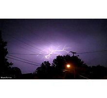 Lightning 2012 Collection 333 Photographic Print