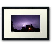 Lightning 2012 Collection 334 Framed Print