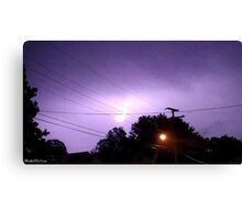 Lightning 2012 Collection 335 Canvas Print