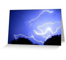Lightning 2012 Collection 338 Greeting Card