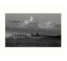 Early morning at  'The Broom' Art Print