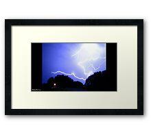 Lightning 2012 Collection 339 Framed Print