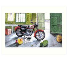 BSA A7 Art Print