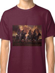 Four French Cuirassiers Classic T-Shirt