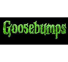 Goosebumps Logo - HQ (Highest Resolution on site!) Photographic Print