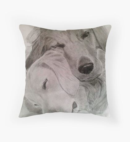 Happiness is a Cuddle Throw Pillow