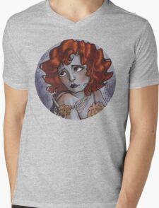 CLARA BOW Mens V-Neck T-Shirt