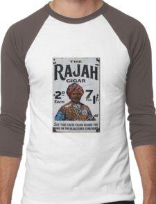 Vintage looking Rajah Cigar Men's Baseball ¾ T-Shirt