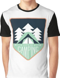 Let's Go Camping Graphic T-Shirt