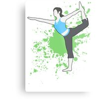 Wii Fit Trainer (Female) - Super Smash Bros  Metal Print