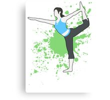 Wii Fit Trainer (Female) - Super Smash Bros  Canvas Print
