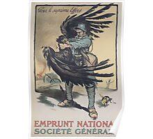 Emprunt National Société Générale Pour le suprême effort Poster