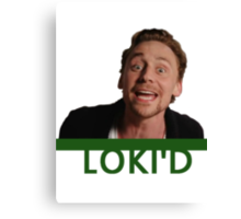 LOKI'D (Colour) Canvas Print