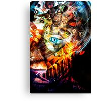 Time Warrior  Canvas Print