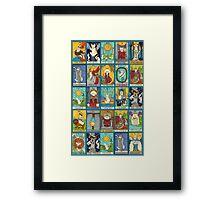 Tarot Deck Framed Print