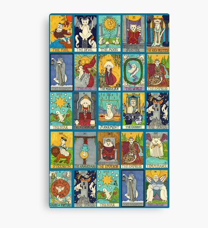 Tarot Deck Canvas Print