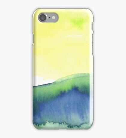 Blue Landscape iPhone Case/Skin