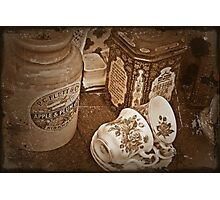 Old Tea Time Photographic Print