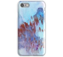 Blue Mountain Landscape iPhone Case/Skin