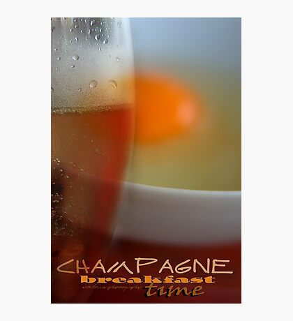 Champagne Breakfast © Vicki Ferrari Photographic Print