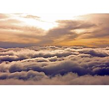 Clouds above Clouds Photographic Print