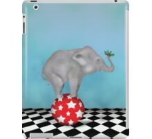 The Holly and The Elephant  iPad Case/Skin
