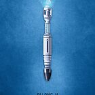 Doctor who - Allons-y - sonic screwdriver by KarmaOrange