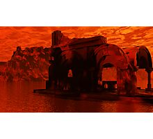 Appolonia Ruins at Sunset Photographic Print