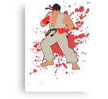 Ryu - Super Smash Bros Canvas Print