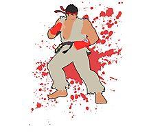 Ryu - Super Smash Bros Photographic Print