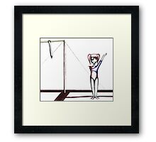 Zombie Games Framed Print