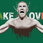 "Conor McGregor ""Take Over"" Eire champion design by monstamorph"