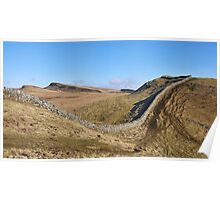 Hadrian's Wall at Clew Hill Poster