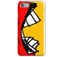 Coloured Mouth iPhone Case/Skin
