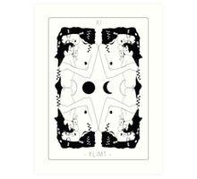 Klimt Tarot Card Art Print