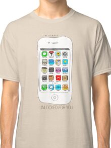 Phone illustration Classic T-Shirt