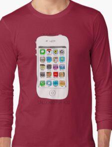 Phone illustration Long Sleeve T-Shirt