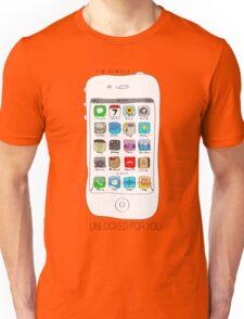 Phone illustration Unisex T-Shirt