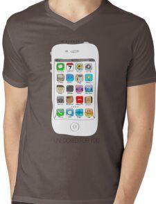 Phone illustration Mens V-Neck T-Shirt