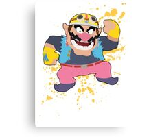 Wario - Super Smash Bros Canvas Print