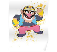 Wario - Super Smash Bros Poster