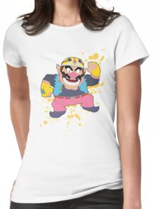 Wario - Super Smash Bros Womens Fitted T-Shirt
