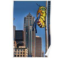 Galaga Bee Poster