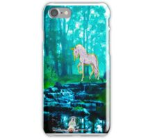 Ophelia and the Unicorn iPhone Case/Skin