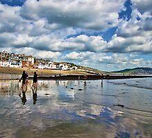 September Approaches ~ Lyme Regis by Susie Peek