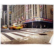 NYC: Radio CIty Music Hall Poster