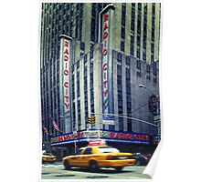 NYC: Radio City Music Hall Poster
