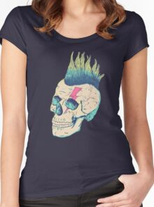 Skull Punk Women's Fitted Scoop T-Shirt