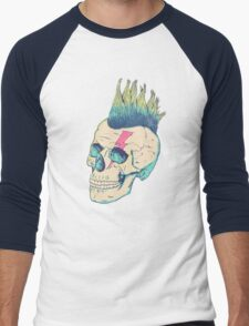 Skull Punk Men's Baseball ¾ T-Shirt