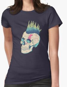Skull Punk Womens Fitted T-Shirt